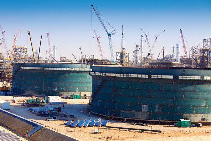 TOTAL refinery, Abu Dhabi